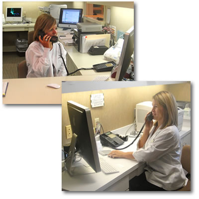 Our staff can assist you in directing your call